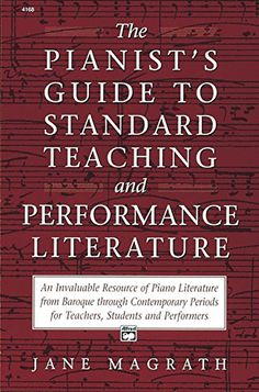 Pianist's Guide to Standard Teaching and Performance Literature by Jane Magrath http://www.amazon.com/dp/0882846558/ref=cm_sw_r_pi_dp_K8uWub09RJDJD