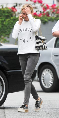 It Doesn't Get Any Cooler Than Diane Kruger's Sneakers