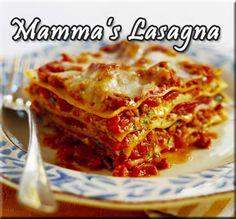 Mammas Lasagna Recipe from The BBQ Man