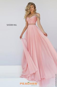 Sherri Hill Chiffon A-Line Dress 50086