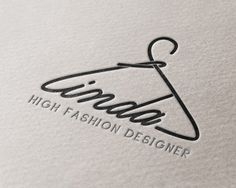 Logos have character! - Typography Logos have character! – have -Typography Logos have character! - Typography Logos have character! – have - Custom Logo Design clothes hanger Logo fashion crownhanger Great Logo Design, Inspiration Logo Design, Design Ideas, Diy Design, Design Art, Style Inspiration, Logo And Identity, Identity Design, Brand Identity