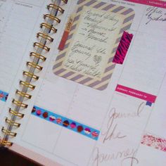 Spa moment: using to keep business notes and objectives at the forefront of Business Notes, Day Designer, Project Life, In This Moment, Spotlights, Planners, Instagram Posts, Cards, Spa