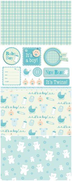 New Baby Boy Scrapbook Printables 47 Ideas Baby Boy Scrapbook, Baby Boy Cards, New Baby Cards, Digital Paper Free, Free Paper, Digital Papers, Printable Scrapbook Paper, Baby Images, Free Baby Stuff