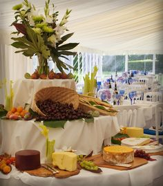 Event Management covering Suffolk, Cambridgeshire, Norfolk and East Anglia Beautiful Blue wine glasses to be in seen in the back ground