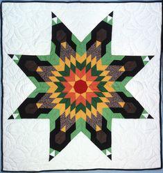 Lone Star Quilt Pattern, Star Quilt Patterns, Star Quilts, Pattern Blocks, Sewing Patterns, Quilting Designs, Quilting Ideas, Seminole Patchwork, Star Blanket