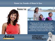 Kareen Lai, Founder of Mums In Sync #Entrepreneur #Entrepreneurs…