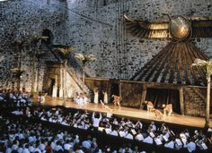 Finland's Savonlinna Opera Festival. 100 year old festival held in a 15th Century Castle