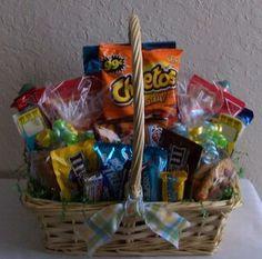 variety snack basket