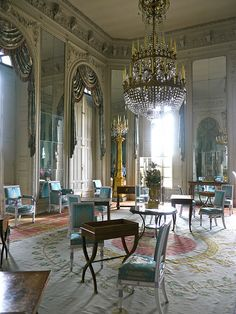 Salle Des Glaces Versailles | Recent Photos The Commons Getty Collection Galleries World Map App ... Grand Canal, Trianon Palace Versailles, Saloon Decor, Mansion Interior, Beautiful Interiors, French Interiors, Classic Interior, French Furniture, Neoclassical