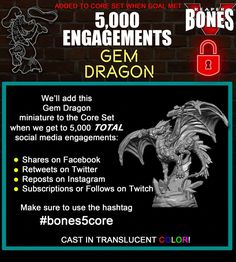 Reaper Miniatures is raising funds for Reaper Miniatures Bones Escape from Pizza Dungeon on Kickstarter! Join in the fun of painting and collecting Reaper BONES miniatures! Dragon Miniatures, Reaper Miniatures, Dungeons And Dragons Miniatures, Dnd Dragons, Dnd Monsters, Social Media Engagement, Stuff And Thangs, Mini Paintings, Dnd Characters