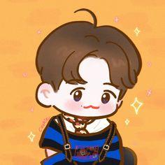 Exo Cartoon, Fan Drawing, Exo Fan Art, K Idols, Baekhyun, Location History, Chibi, Disney Characters, Fictional Characters