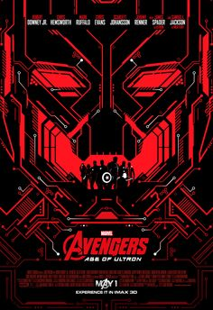 Avengers: Age of Ultron IMAX Poster