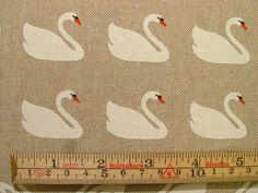Swans On Natural Linen Look  Curtain, Upholstery, Craft, Quilting Fabric  Superb Design And Multi Use Length - Sold By The Metre  Width - 137cms / 54 Wide  Colour - Natural Linen  100% First Quality  Vertical Pattern Repeat - 32 cms  Made From 100% Cotton Which Makes The Fabric A Loverly Crisp Quality To Touch And It Handles Really Well  Ideal For Curtains, Blinds,Cushions, Light And Soft Upholstery Uses,Bedding, Craft And Quilting, And 100s Of Other Soft Furnishing Uses  Buy More Than 1…