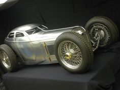 "Read More About ""Harry Miller was, quite simply, the greatest creative figure in the history of the American racing car."" Harry Miller's Golden Sub. Pedal Cars, Race Cars, Hot Rods, Automobile, Auto Retro, American Racing, Vintage Race Car, Courses, Custom Cars"