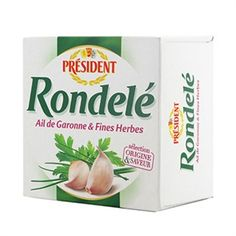 Président Rondelé cheese
