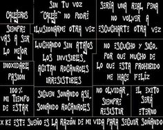 Callejeros El Rock And Roll, Love Phrases, Periodic Table, Rey, Life, Tattoo, Metal, Google, Wood Pictures