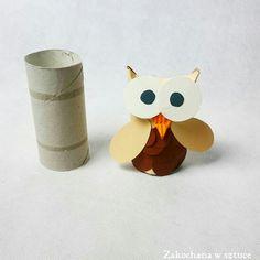 #Sowa z rolki po papierze jest już na blogu    #diy #handmade #rękodzieło #zróbtosam #zakochanawsztuce