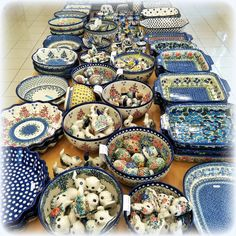 Happy Sunday to everyone! #PolishPottery at http://slavicapottery.com