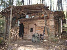 Russian Hunting Cabin