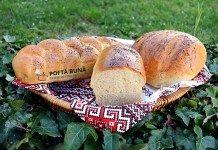 Paine pufoasa de casa, cu lapte Sweet Bread, Hot Dog Buns, Bagel, Graham, Recipes, Pretzels, Healthy Food, Cooking Recipes, Bread