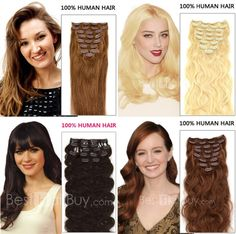 best way to add length and colorful hairstyle for your short hair,easy wear.Change your hairstyle now!!Ombre hair in minutes!