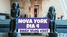 Nova York: MET e Macy's | DAILY VLOG #507 https://youtu.be/YJtBhKTBPQk