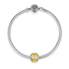 Aquarius Charm Bracelet