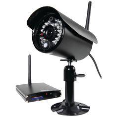 First Alert D-575 Digital Wireless Security Recording System (Black)