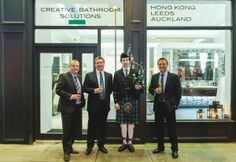 TURNING BATHROOM DREAMS INTO REALITY AS BAGNODESIGN OPENS FOR BUSINESS IN GLASGOW #Scotland #Glasgow