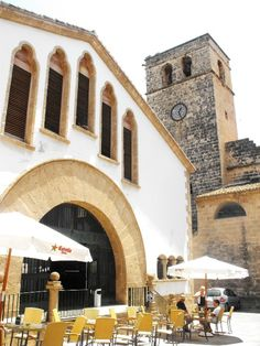 Mercat i Església #xabia #javea #costablanca #xabiahistorica www.xabia.org
