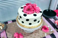 Lots of fun decor made this Kate Spade inspired birthday party extra special!