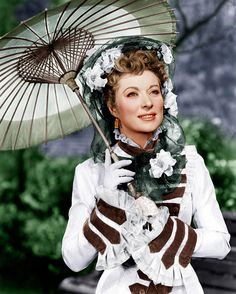 """Greer Garson in """"That Forsyte Woman"""", 1949. This is a meaty melodrama with Errol Flynn and Walter Pidgeon playing against type and it works:)"""