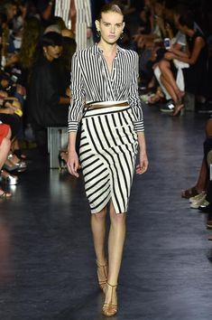 GINGHAM AND STRIPES- NYFW- Spring 2015 - Mark D. Sikes: Chic People, Glamorous Places, Stylish Things