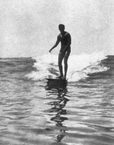 George Freeth. Irish Hawaiian waterman and incredible life guard. He was the first to introduce surfing to California