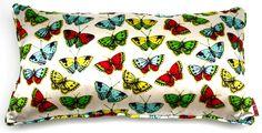 Corita Rose Butterfly Cushion