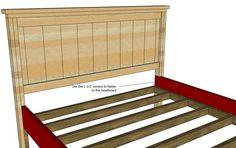 Ана Белая кровать | дом, Король Калиф - DIY проектов