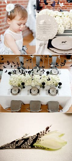 Black and white #weddings