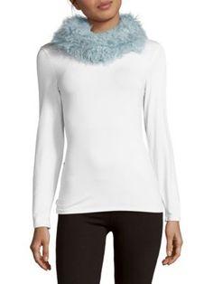 JOCELYN Fur Infinity Scarf. #jocelyn #scarf