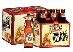 Highlights of sweetness and smoothness reveal the character of Point Drop Dead Blonde Ale.  The invigorating flavors are captured and revealed with an alluring aroma – promising a refreshingly different 110 calorie beer moment stimulating its freshness and newness.  A unique blend of Sterling hops and 2-row malts unleash a balanced character with layers of flavor -- bright and refreshing.