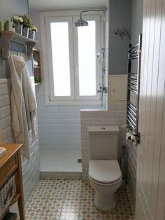 Baños con Baldosa hidraulica, Suelo hidraulico, Zelart