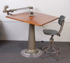 1950s Nike Architects Drafting Table