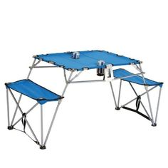Camping tables - Pin It :-) Follow us :-))  zCamping.com is your Camping Product Gallery ;) CLICK IMAGE TWICE for Pricing and Info :) SEE A LARGER SELECTION of camping tables at http://zcamping.com/category/camping-categories/camping-furniture/camping-tables/ -  hunting, camping, camping tables, camping gear, folding tables, portable tables, tables, camping accessories -  Picnic Plus Dalby Portable Camping Travel Table for 2 « zCamping.com