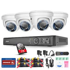 ANNKE 8CH 1080P HD-TVI DVR 1500TVL Outdoor 2.0MP Home Security Camera System 1TB    $299.19   $344.53   (20 Available)End Date: Sep 072016 07:59 AM GMT-07:00