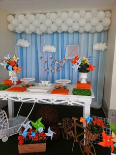 Momento Único Decoração de Festas Infantis: Pipas e Cataventos