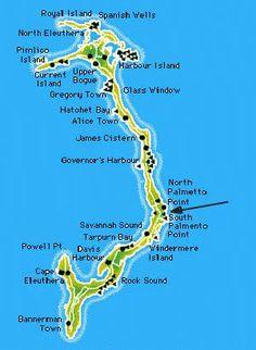 Gregory Town, Eleuthera, Bahamas