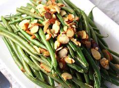 Fresh green beans make a perfect side dish in this green bean almondine recipe.