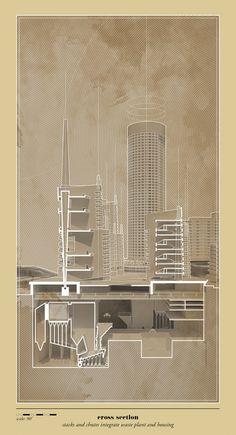 Harvard GSD | M.Arch Thesis | Heterotic Architecture: Stacks, Chimneys & Chutes