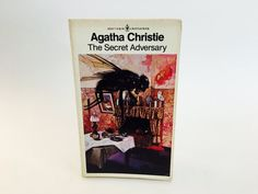 LABOR DAY SALE Vintage Mystery Book The Secret Adversary by Agatha Christie 1981…