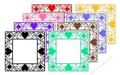 Heart Frame Cutting Files & JPGs Commercial Use Allowed - CUP715455_2105 | Craftsuprint