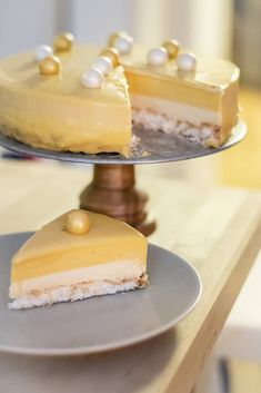 Cookie Desserts, Dessert Recipes, Food Decoration, Foods With Gluten, No Bake Cake, Delish, Cake Decorating, Mango, Food Porn